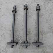 Болты фундаментные с анкерной плитой (2.1) - Тип 2